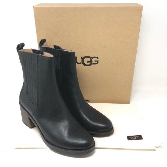f1e0375f2fb Ugg Camden Chelsea Boot Leather Ankle Bootie NWT